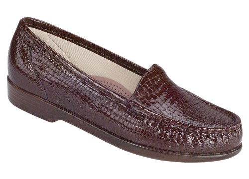 SAS Simplify Brown Croc
