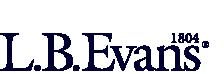 LB Evans logo